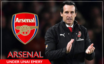 Unai Emery and Arsenal